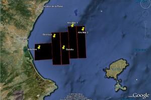 MAPA: prospecciones (google earth)