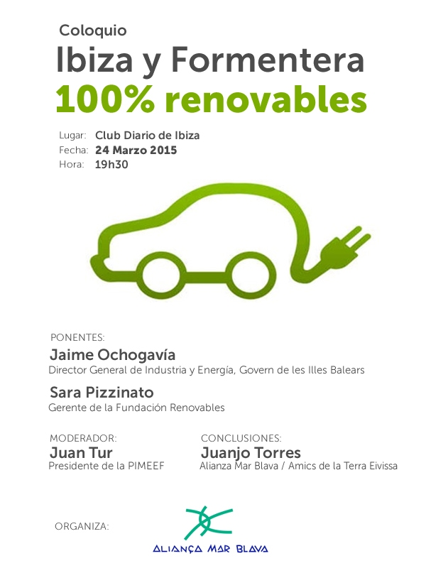 2015-03-24 mesa redonda Ibiza y Formentera 100% renovables