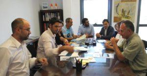 Imagen de la reunión de la consejería de Medio Ambiente, Agricultura y Pesca con Alianza Mar Blava y los consejos insulares de Mallorca y Menorca