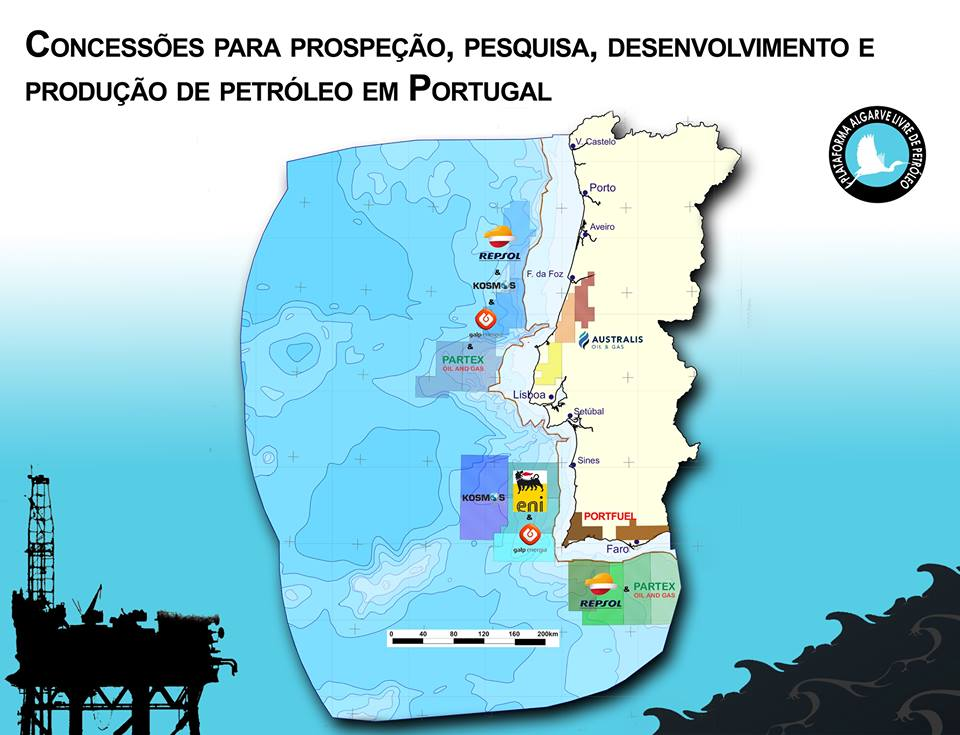 mapa prospecciones Portugal 2