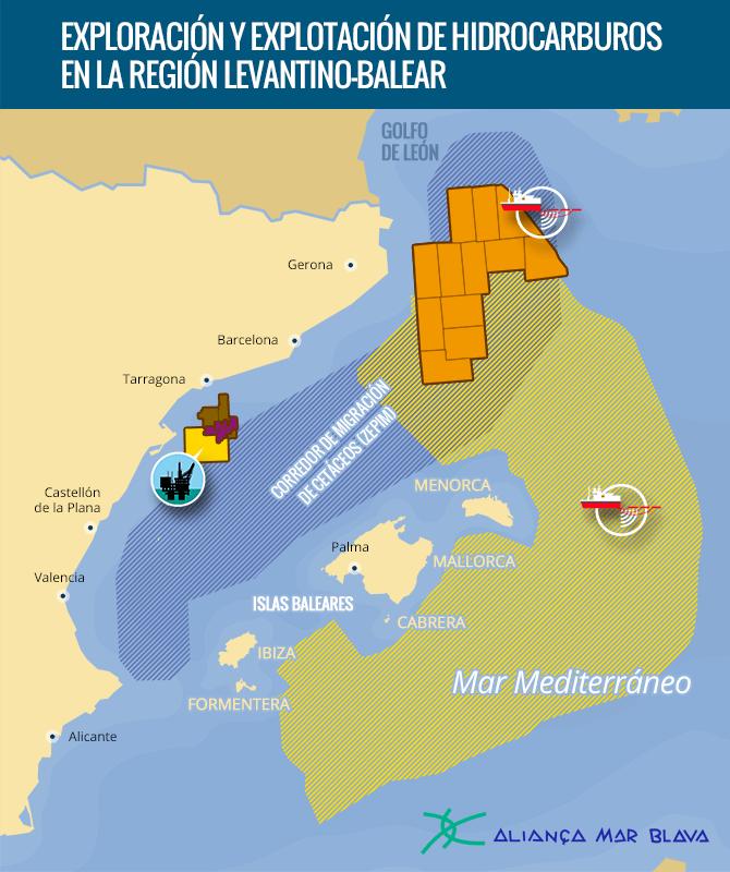 Exploración y explotación de hidrocarburus en la región levantino-balear